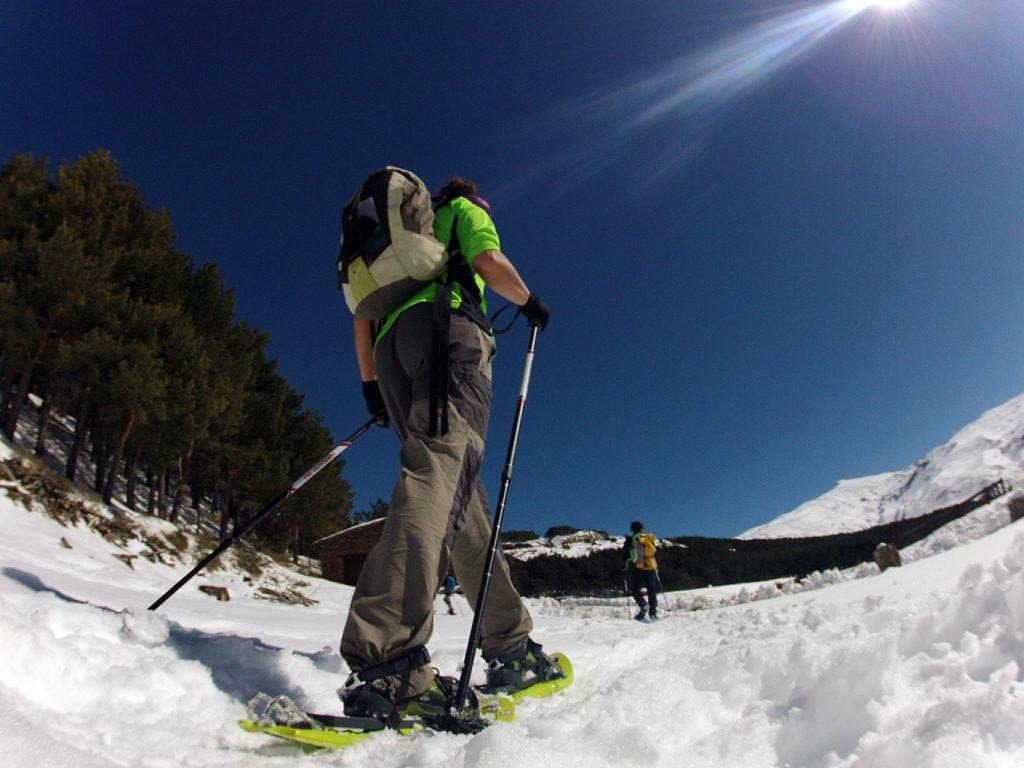 Trekking con Raquetas-Sierra Nevada-Guïas Montaña