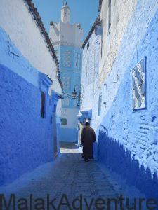 calles estrechas y mezquitas