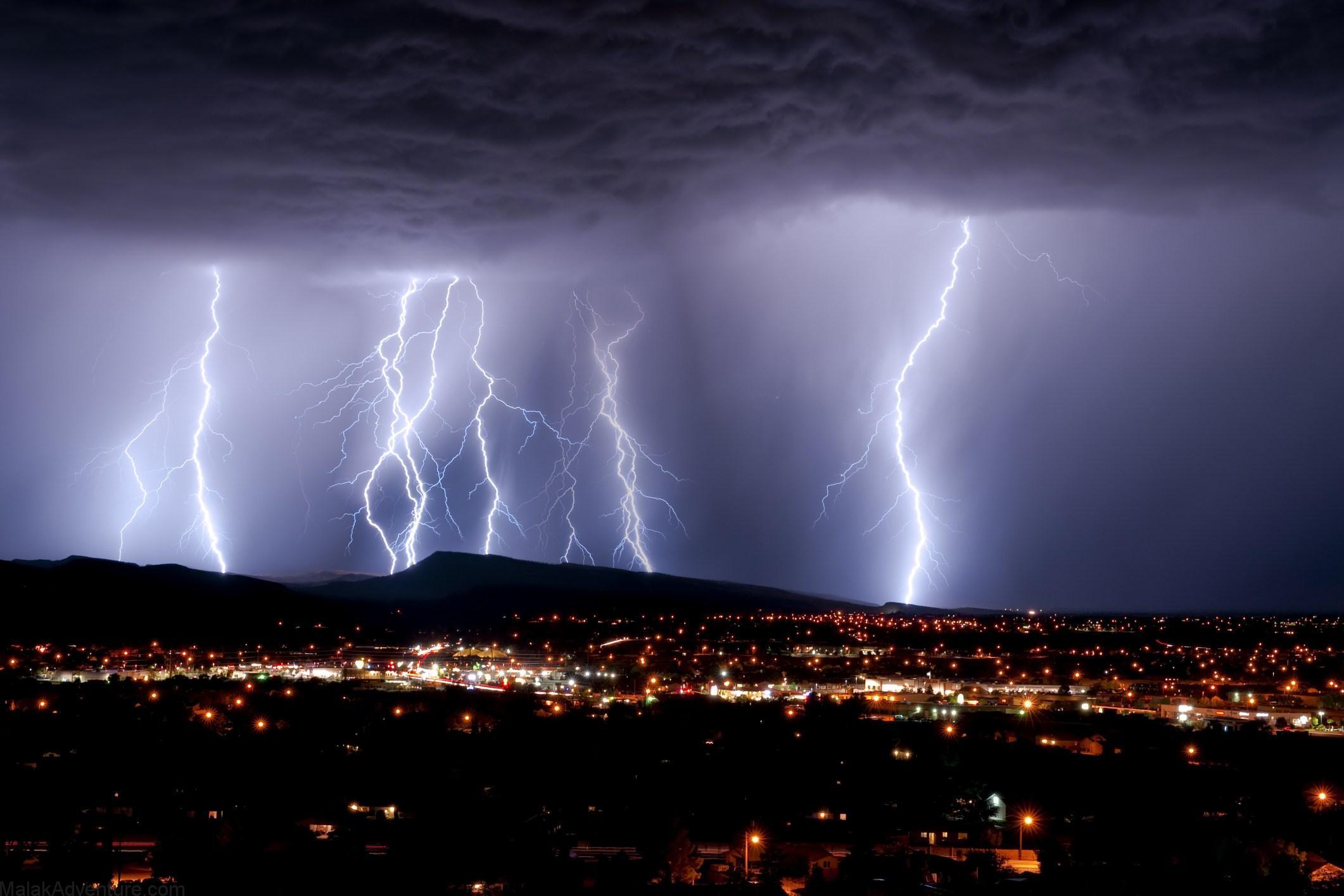 ¿A qué distancia está una tormenta?