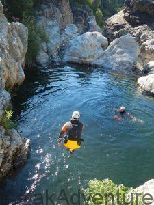 Descente canyon gudalmina